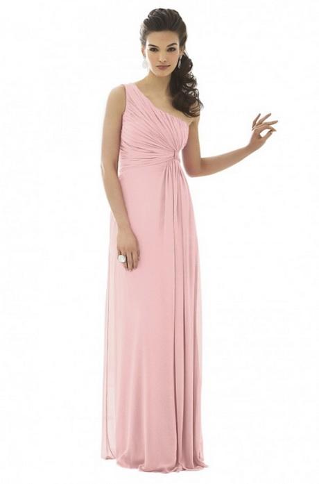 Langes kleid pink