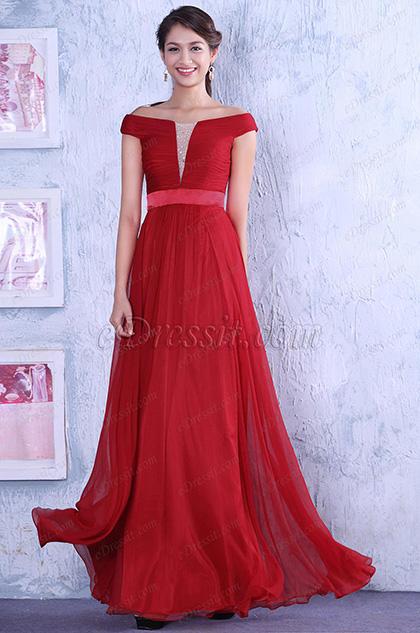 Rotes langes kleid auf hochzeit – Modische Kleider beliebt in ...