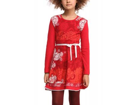Kleider rot madchen