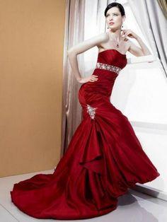 rote kleider für frauen