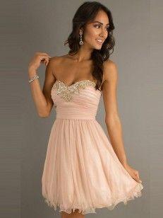 Kleid creme kurz
