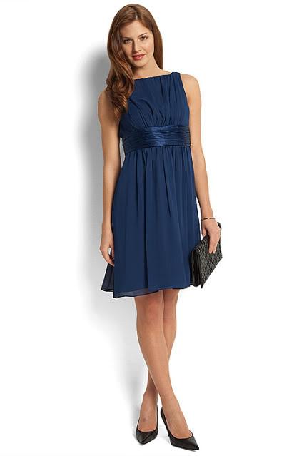 Welche schuhe fur blaues kleid | Trendige Kleider für die