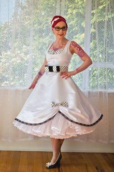 Brautkleider im rockabilly style