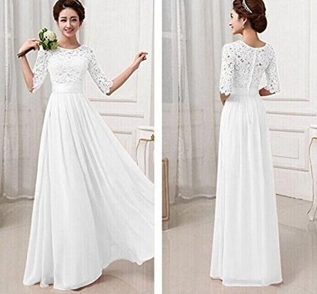 abendkleider in weiß
