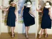 schuhe zu dunkelblauen kleid