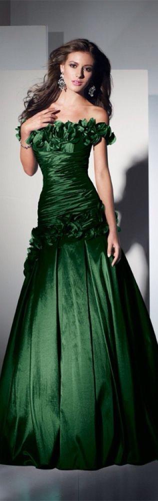Grüne kleider zur hochzeit