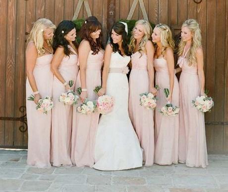 Hochzeitsgast langes kleid