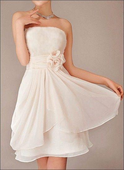 Hochzeitskleider standesamt farbig