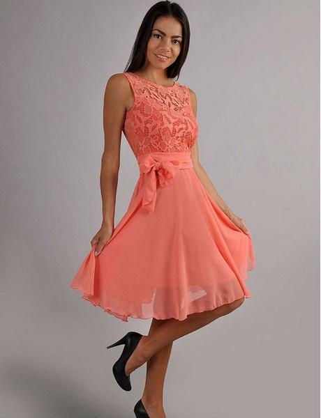Kleid apricot hochzeit