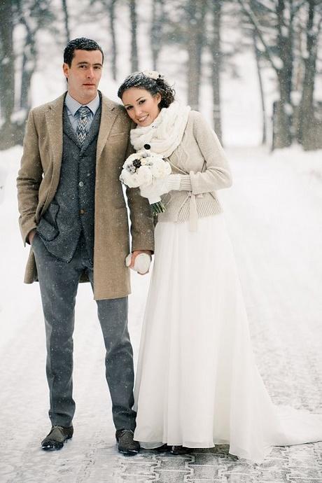 Kleid fur hochzeit im winter