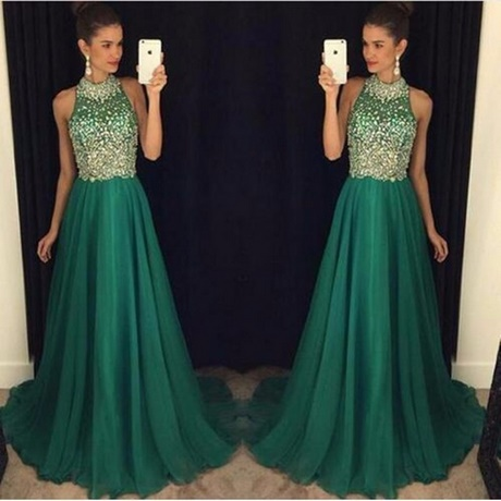 Kleid hochzeit grün