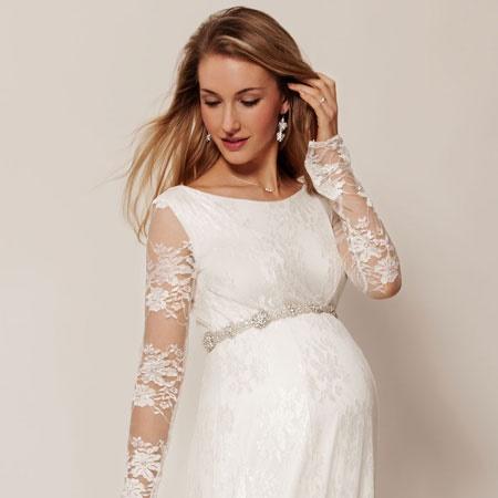 Kleid zur hochzeit schwanger