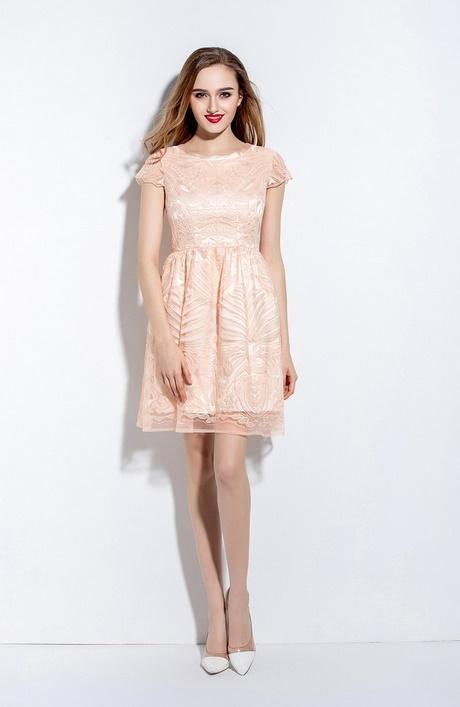 Rosa kleid kurz
