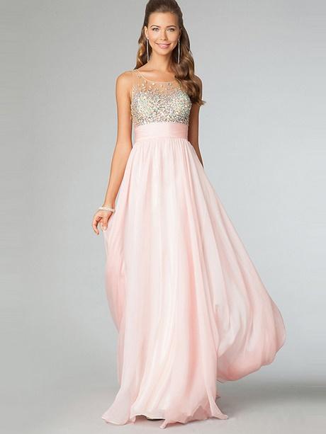 Rosa kleid lang