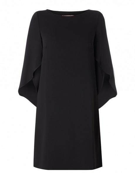 Kurzes schwarzes kleid lange armel