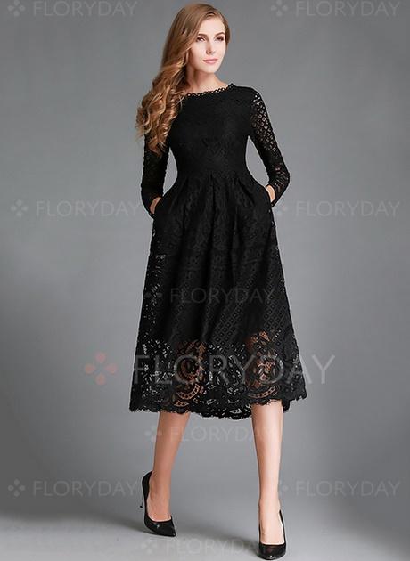 Schwarzes kleid lang