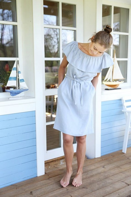 Sommerkleid hellblau