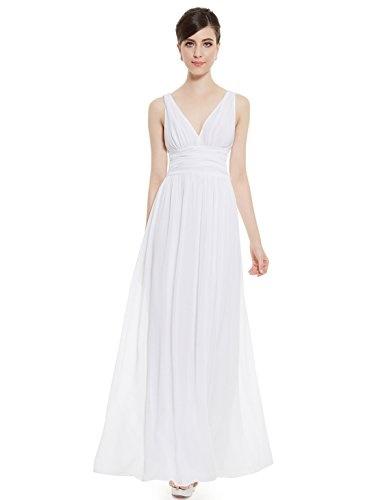 weißes kleid lang