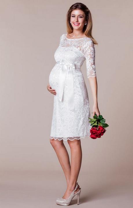 Standesamtliche kleider für schwangere