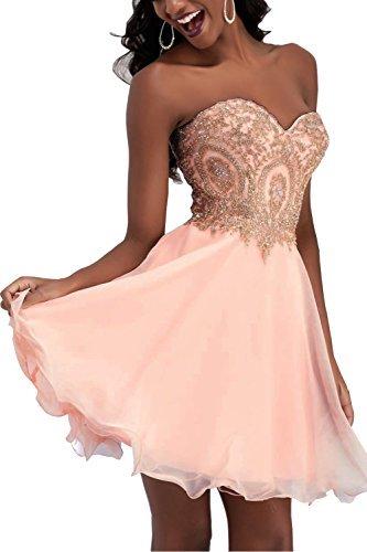 Kleid kurz rosa