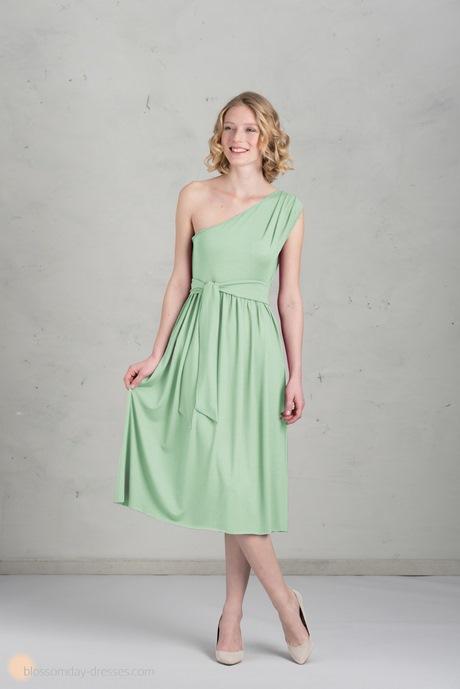 Kleid mintgrün kurz