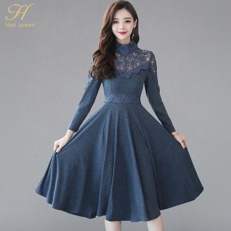 Damen kleider herbst winter