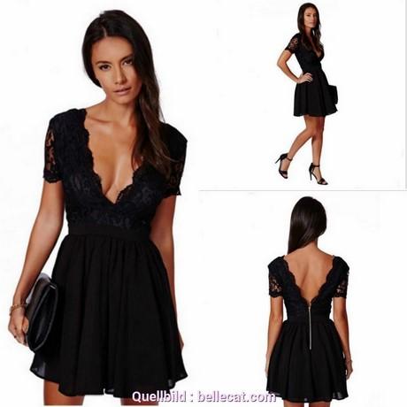 Schwarzes kleid kurz rückenfrei