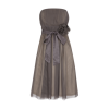Cocktailkleid taupe