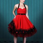Kleid pin up