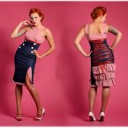 Pencil kleid rockabilly