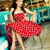 Rockabilly pin up kleider