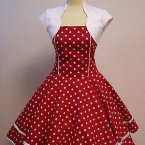 Abendkleid rockabilly