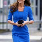 Kate middleton blaues kleid