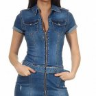 Stretch jeans kleid