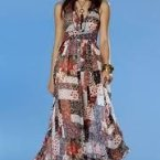Abendkleid hippie