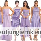 Brautjungfer kleid flieder