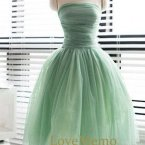 Brautjungfer kleid mint