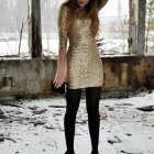 Kleid silvester outfit