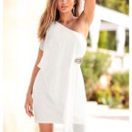 One shoulder kleid bonprix